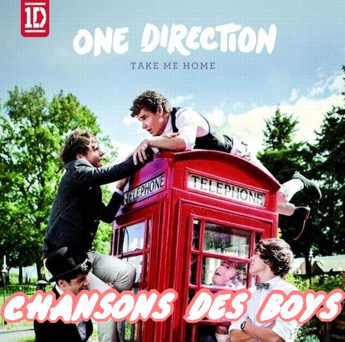 Chansons des boys TMH
