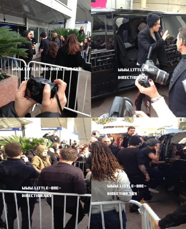 Les boys sont à Cannes