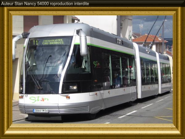 Comparer les tramway. Numéro article 3.