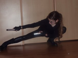Cosplay Lara Croft Espion