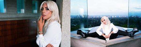 Des nouveaux clichés de Lady Gaga sont apparus pour la marque de montres : Tudor