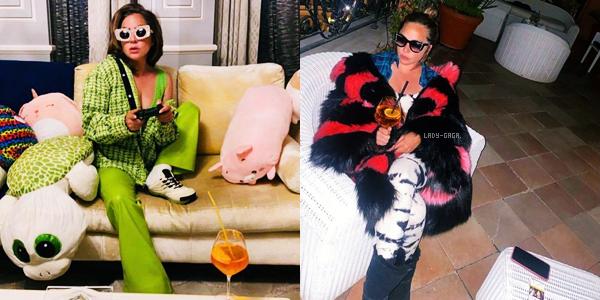 """De nouvelles photos de Lady Gaga sont apparues pour le film """" House of Gucci """" , c'est un gros Top!"""