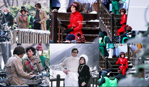 """09/03/21   ▬ Lady Gaga a été vue avec  « Adam Drive » à Rome en plein tournage du film """" HouseofGucci """"."""