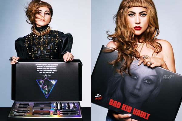 Découvrez deux sublime photos de Lady Gaga pour les 10ans de Born this way par Haus Laboratories, Vos Avis?
