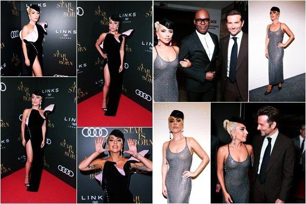 09/09/18   ▬ Lady Gaga était présente à l'événement  «  Afterparty Audi & Link Off » avec Bradley Cooper.