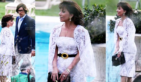 17/03/21   ▬ Lady Gaga magnifique,  a été vue sur le tournage du film  « Gucci » à Milan (Italie). C'est un Top!