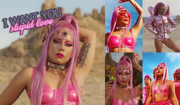 """▬ Découvrez le nouveau clip de Lady Gaga  « Stupid Love  » inclus dans l'album """" Chromatica """". c'est un Top."""