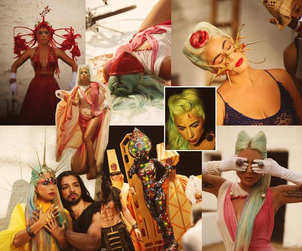 """▬ Découvrez le nouveau clip de Lady Gaga  « 911 » inclus dans l'album """" Chromatica """". c'est un gros Top."""