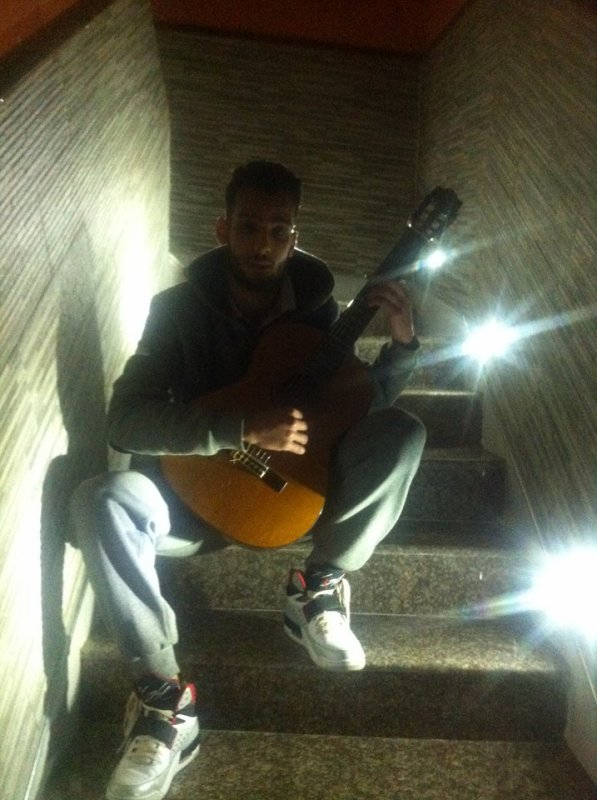 moi et ma guitare