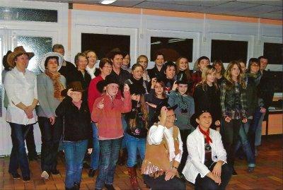 Le groupe le 19 Janvier 2010, à la création de l'association.