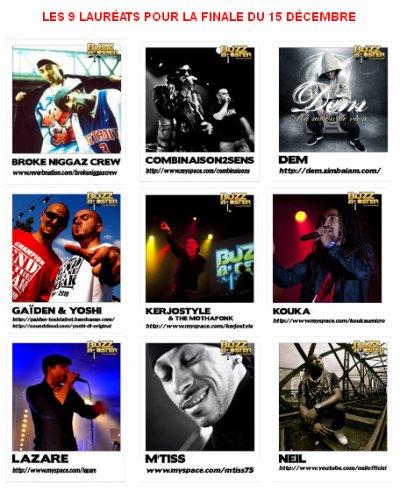 9 lauréats Buzz Booster Ile-de-France 2012