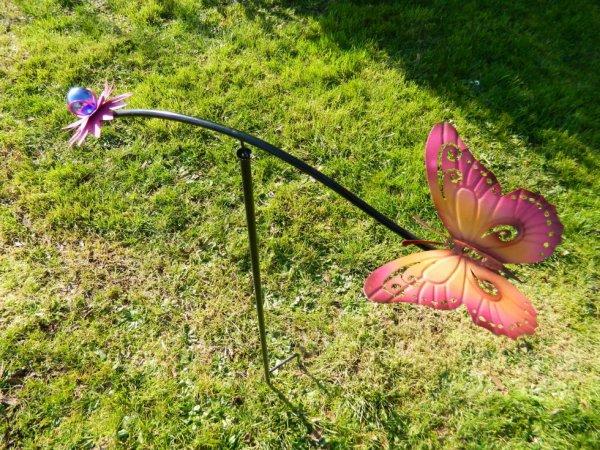 déco de jardin Papillon