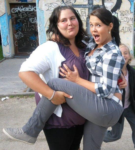 *Moi et ma Grosse! :) <3
