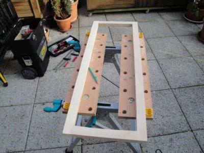 Fabrication De  Porte Avec Encadrement Pour Placard  Blog De