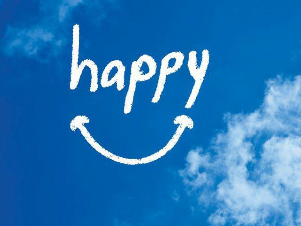 I'm Happy :) !
