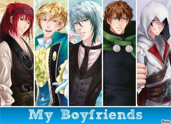 Un autre montage: Castiel, Nathaniel, Lysandre, Kentin, Armin