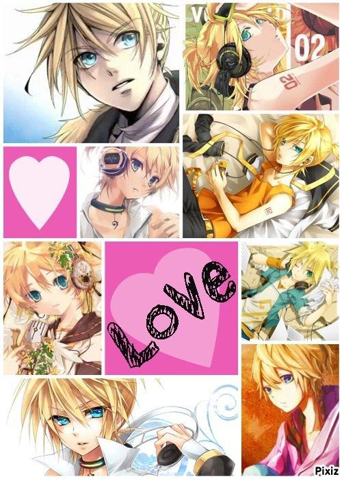 I'm addicted to Len Kagamine!!!