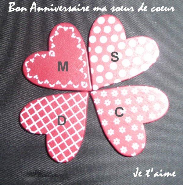 Bon Anniversaire Ma Soeur De Coeur Chez Aqua Cest Mon Blog