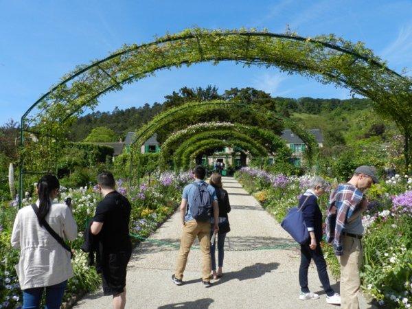 Visite aux jardins de Claude Monet avec Odile le 18/5/2018