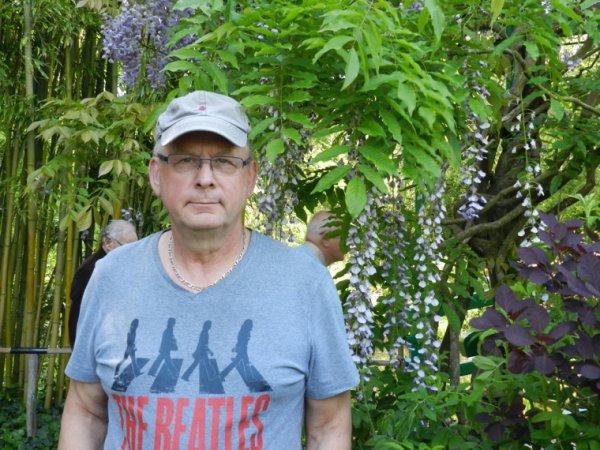 Visite aux jardins Claude Monet avec Odile le 18/5/2018