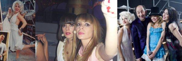 Alizée dans les coulisses des enfoirés 2009