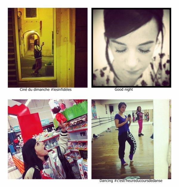 Photos instagram et twitter