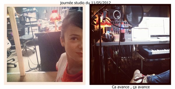 Alizée en studio + news sur le nouvel album