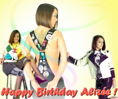 Happy Birthday Alizée !