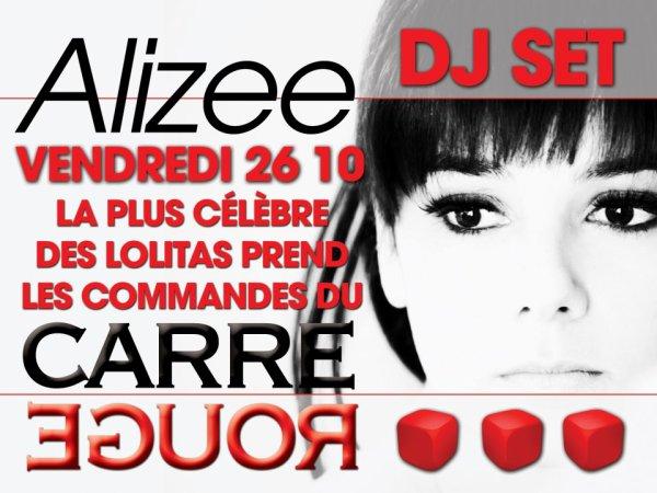 DJ Set CarréRouge 26.10  C'est ce soir !!!