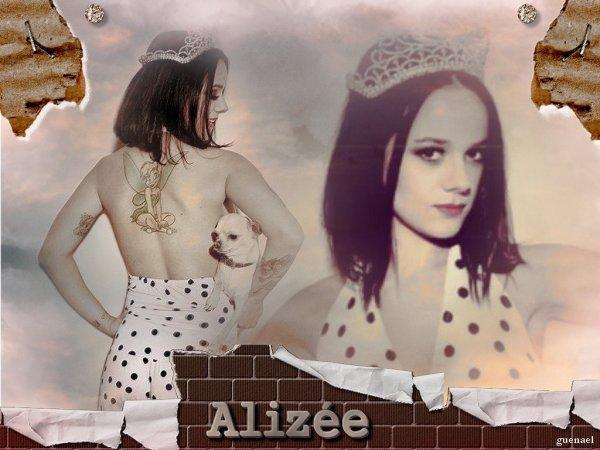 Alizée en couv' de INKED MAGAZINE de janvier/février 2013