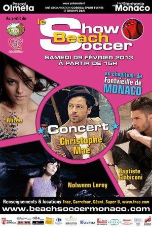 Le Show Beach Soccer à Monaco