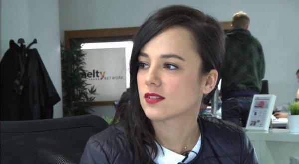 Alizée est rédactrice en chef de Melty le 13/03