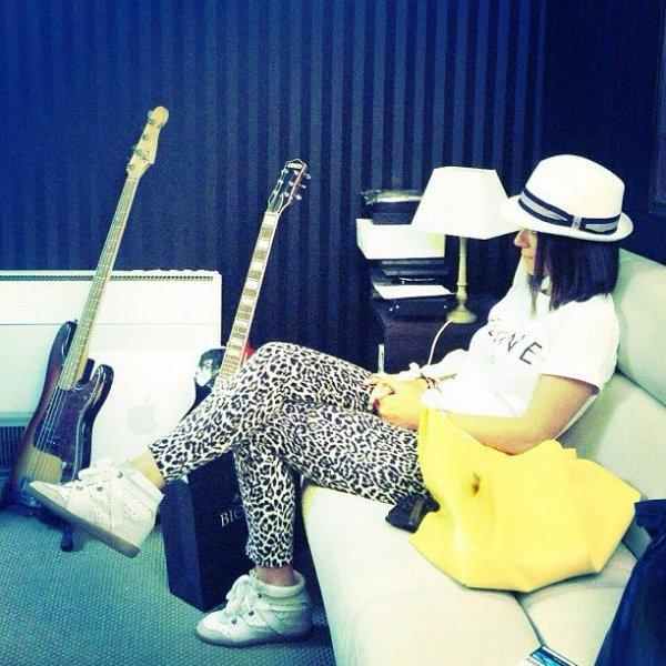 Alizée de retour en studio ! ! ! (news du 12/07)