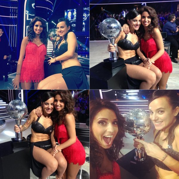 Alizée gagnante de Danses avec les stars 4