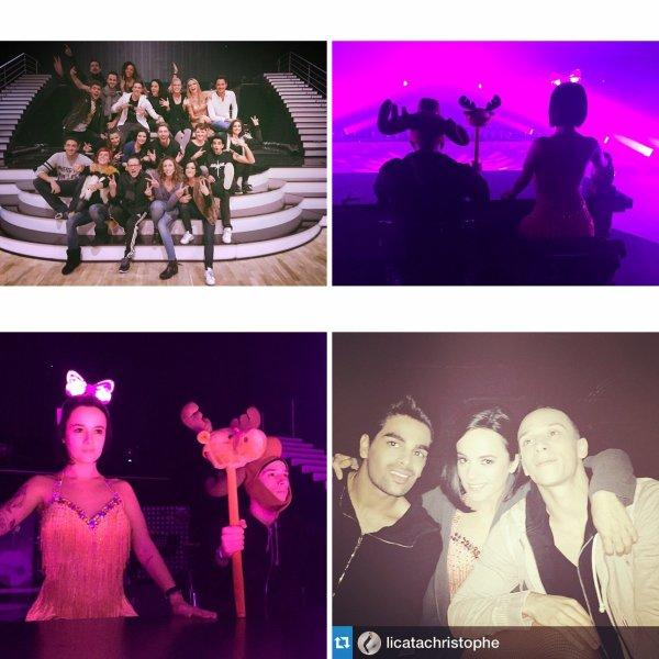Dans les coulisses de la tournée de Danses avec les stars