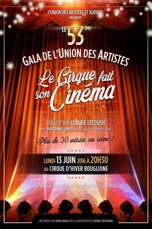 Le Gala de l'Union des artistes
