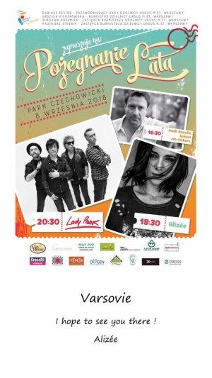 Festival Pozegnanie Lata à Varsovie