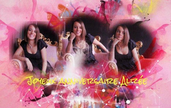 Joyeux anniversaire Alizée !!!