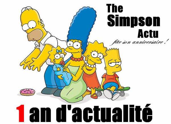 """Bienvenue sur le blog d'actualité """"The-Simpson-Actu"""" !"""
