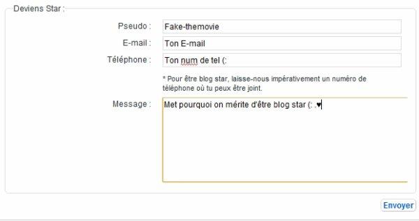 Blog star