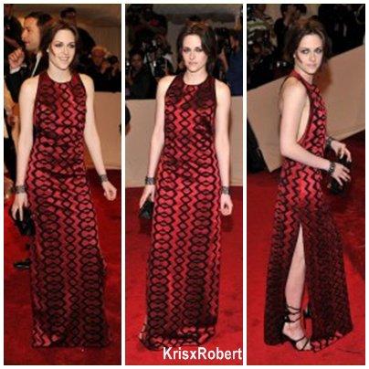 Le 2 mai, Kristen était au Met