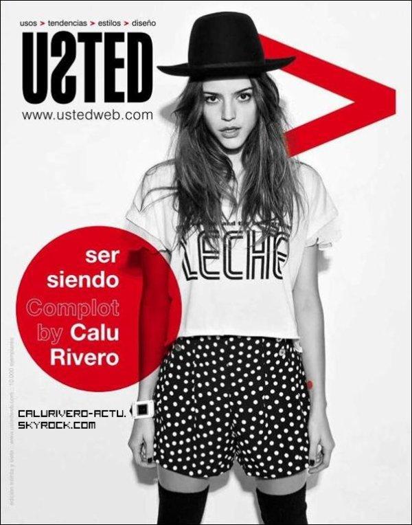 Calu Rivero dans la revue du site Ustedweb.com