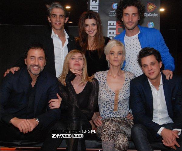 Photos du cast de El Elegido dans la ville de Rosario