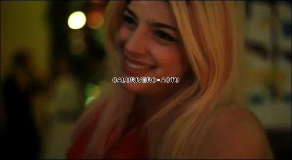 "CANDID : Calu a la fête ""Lovely Night"""
