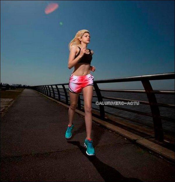 Calu s'entraîne pour le Nike Woman Marathon 2011  Calu est partie aujourd'hui aux Etats-Unis pour le marathon avec sa soeur.