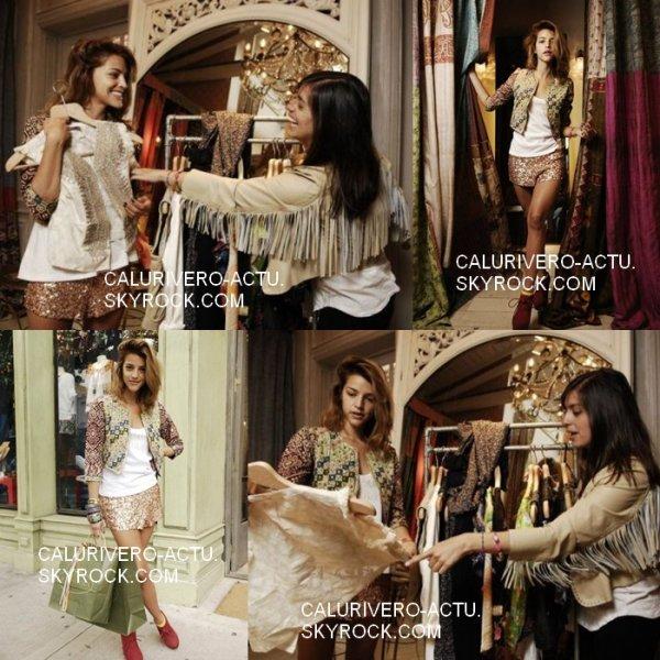 Séance shopping avec sa soeur Marou