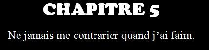 Chapitre 5, new