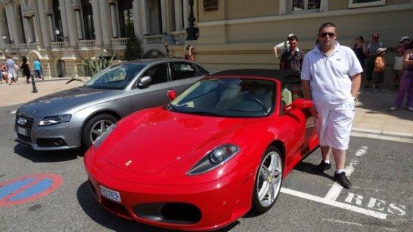 moi a cotte de la Ferrari