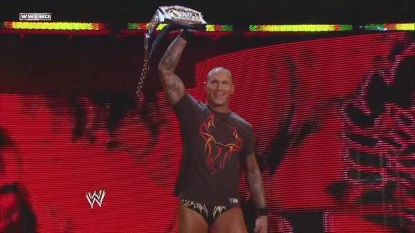 AND THE NEW WWE CHAMPION...........
