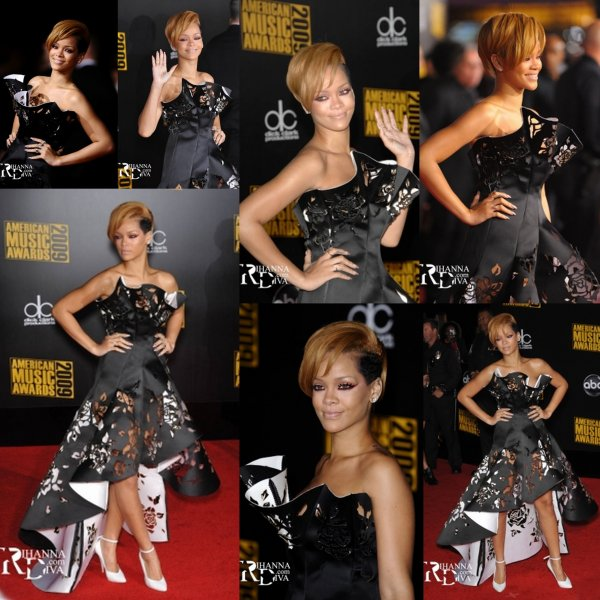 C'etait les American Music Award 2010 : Tapis rouge